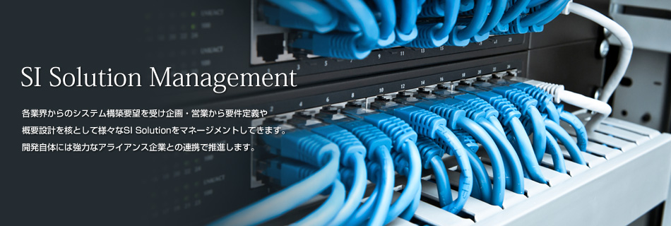 SI Solution Management